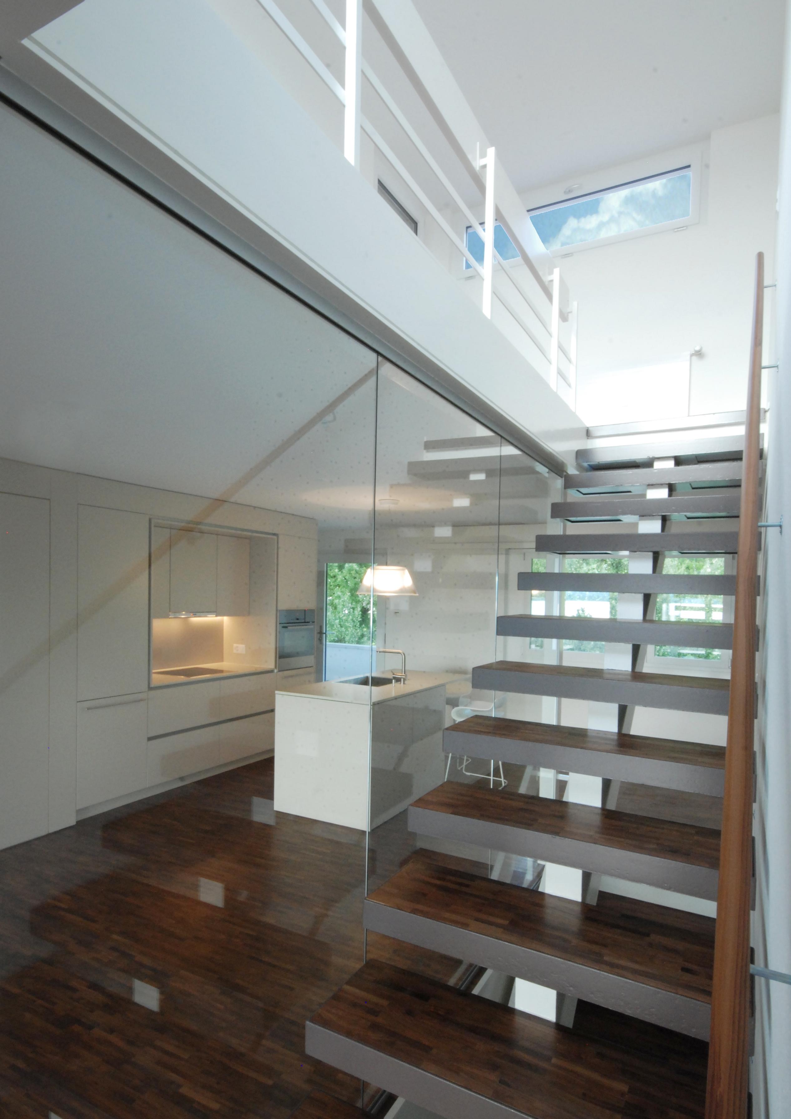 maisonettewohnung, oberwil bei zug - innenarchitektur leitgedanke, Innenarchitektur ideen
