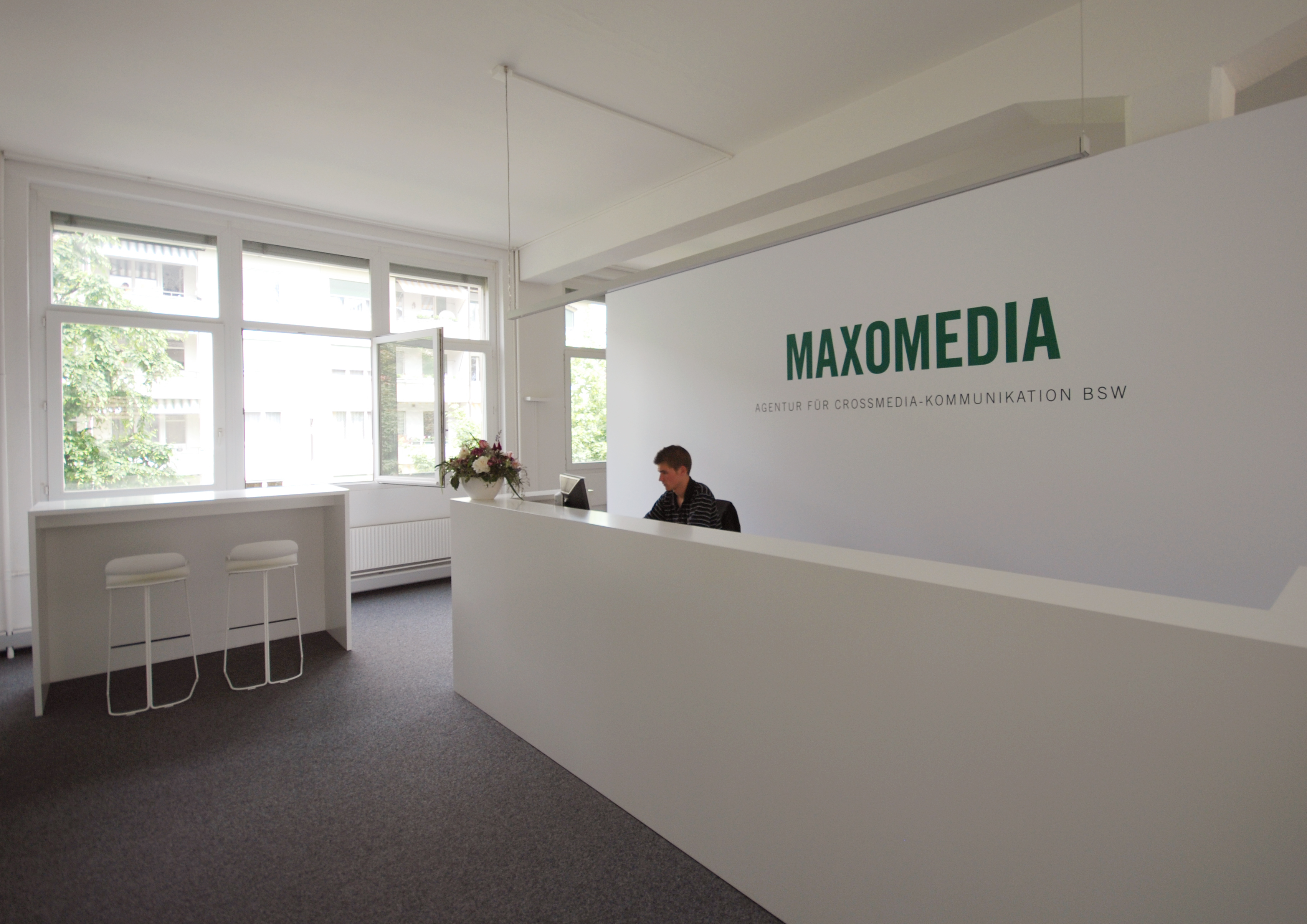 Maxomedia bern innenarchitektur leitgedanke projekte for Design innenarchitektur