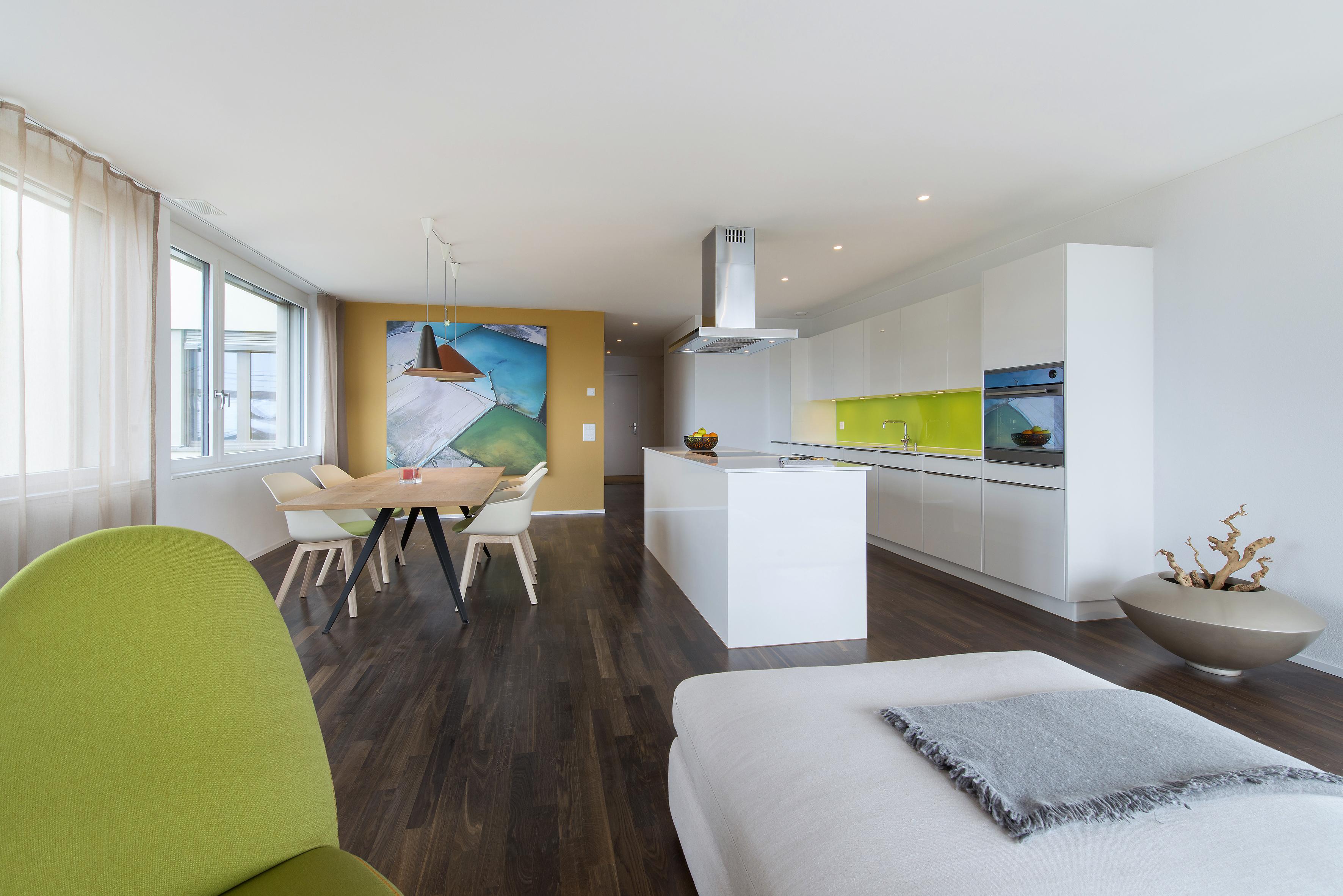 Wohnraum, Hedingen - Innenarchitektur Leitgedanke Projekte - Bogen ...