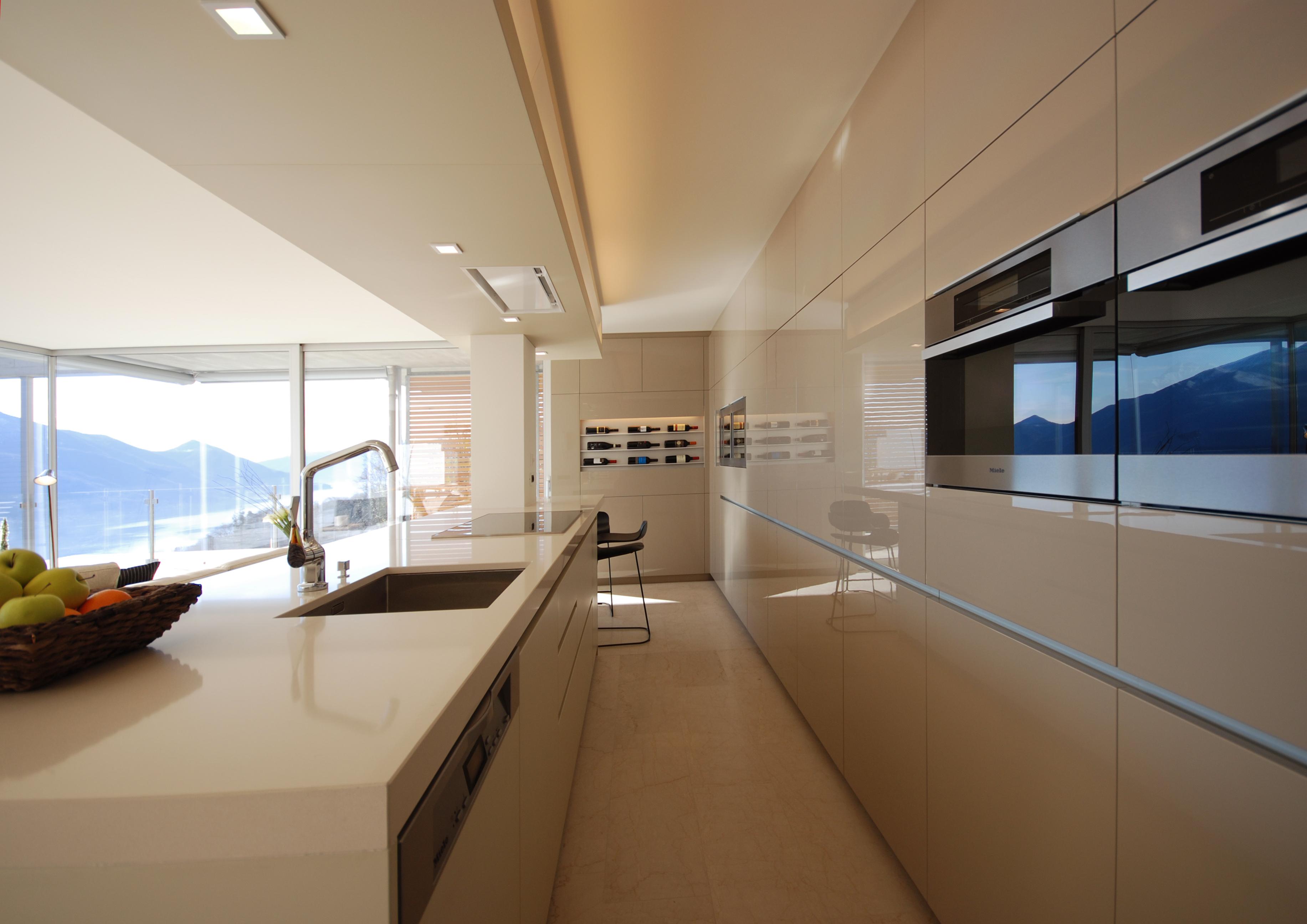 Küche - Bogen Design, Innenarchitektur